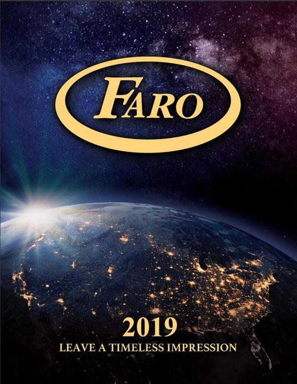 Faro Catalog 2019